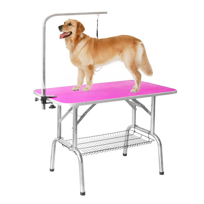 Portable Fold Stainless Steel Pet Dog Show Grooming Table SF-500,501,502,503,504