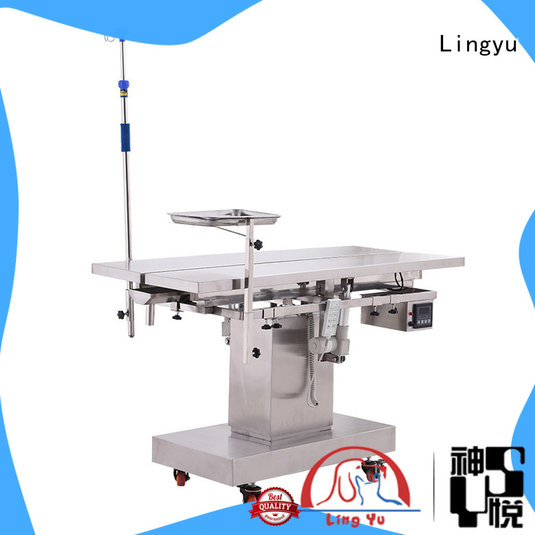Lingyu latest veterinary surgery table for busniess for dogs