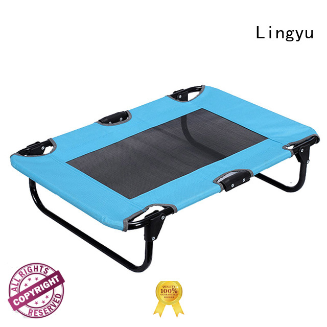 Lingyu top raised dog bed supplier for kennel
