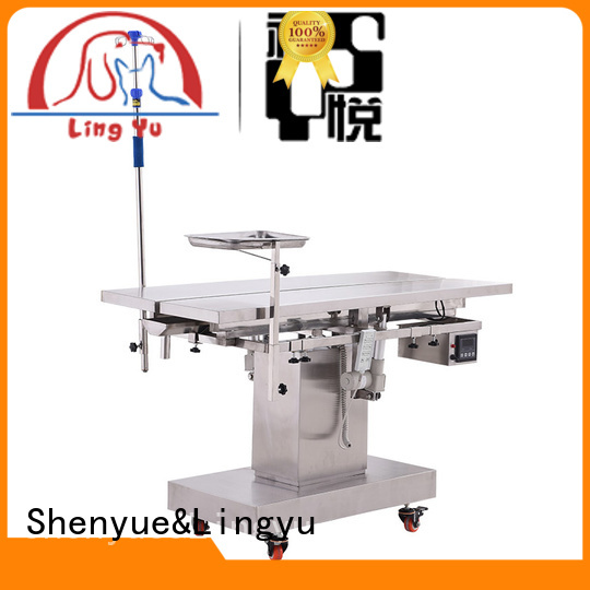 tooth washing veterinary surgery table supplier for sale