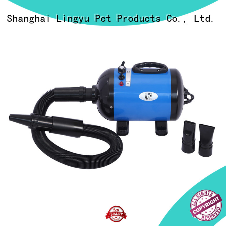 Shenyue&Lingyu stainless steel pet blower supplier for pets