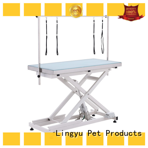 Lingyu pet grooming table supplier for pet