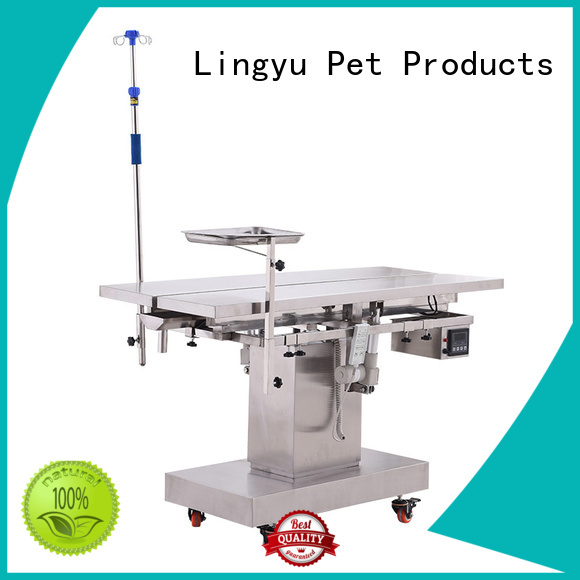 Lingyu veterinary operating table for busniess for dogs
