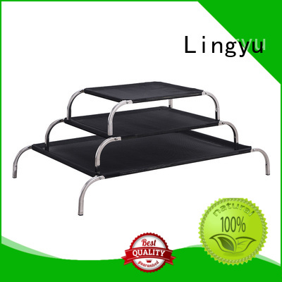 Lingyu colour elevated dog bed for busniess for pet