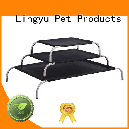 Lingyu best raised dog bed for busniess for sale