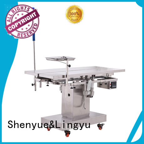 Shenyue&Lingyu veterinary surgery table wholesale for sale