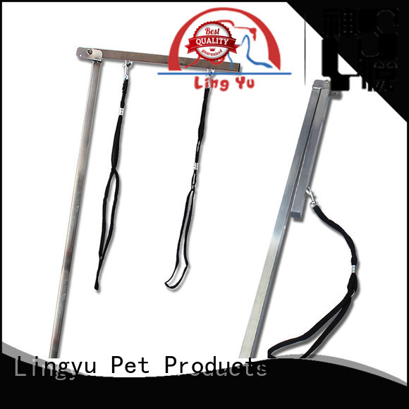 Lingyu dog grooming table arm supplier for pet hospital
