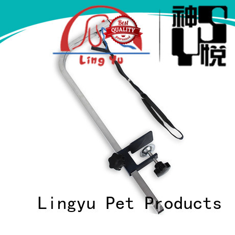 Lingyu high quality dog grooming table arm for busniess for kennel