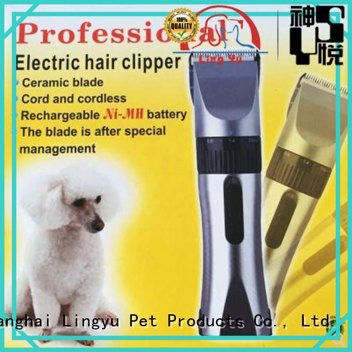 Lingyu wholesale dog grooming scissors for busniess for pets