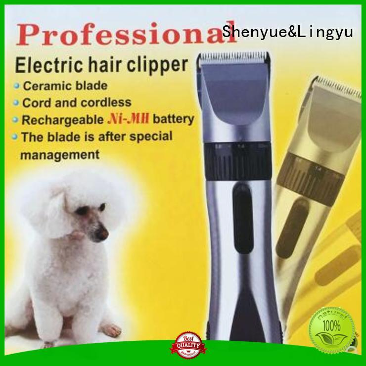dog hair cutting scissors manufacturer for home Shenyue&Lingyu