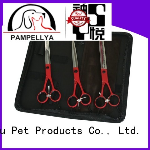 Lingyu latest dog grooming scissors for busniess for sale