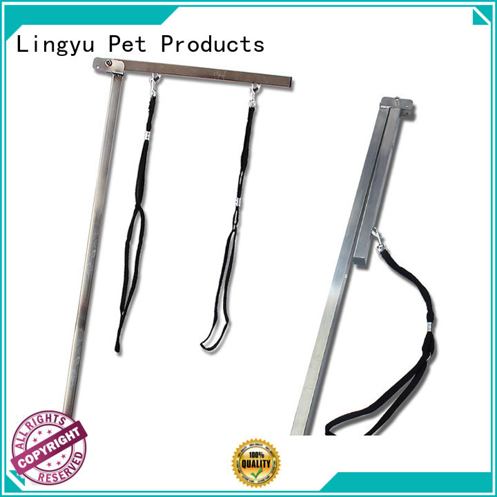 Lingyu best grooming arm for sale company for kennel