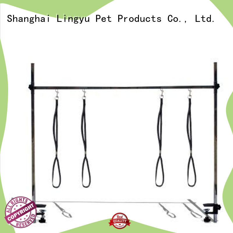 Lingyu new dog grooming arm supplier for kennel