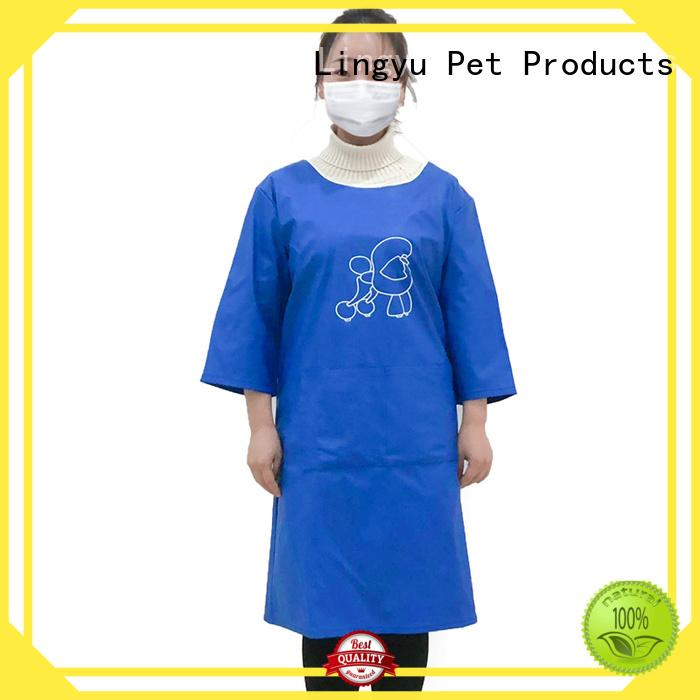 Lingyu hot sale dog grooming tools kits for pet hospital