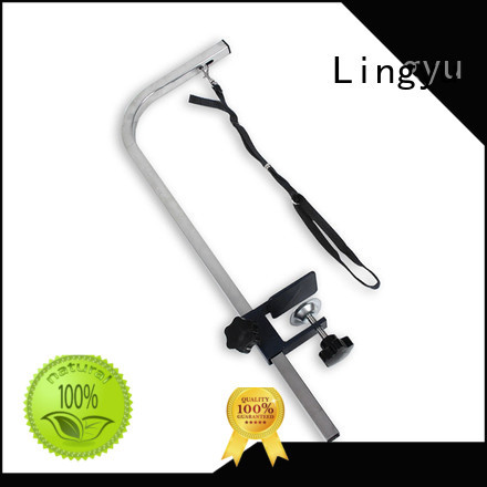 Lingyu high quality dog grooming table arm with customized services for pet hospital