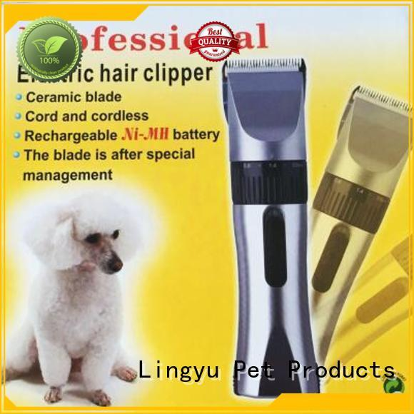 Lingyu hot sale dog grooming tools with carton packing for home