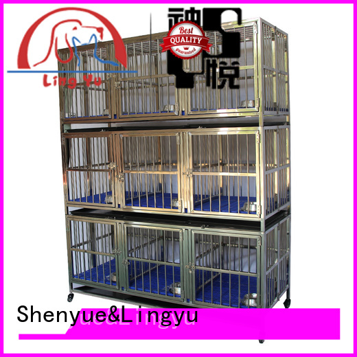 Shenyue&Lingyu xxxl dog cage for pets